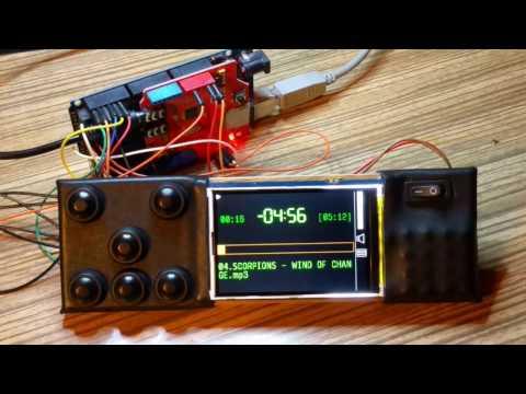 Arduino car audio player (in progress)