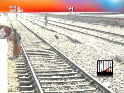 A couple in love jumps to death in front of running train in Gurgaon!