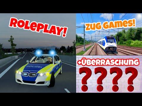 ROBLOX LIVE   Roleplay / Köln Germany & FR:CH   Zug Games / Trainware & SCR   + Überraschung