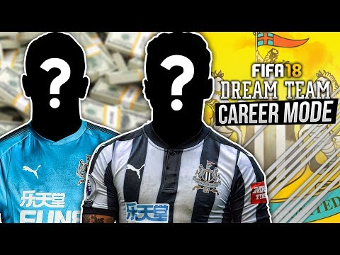 THE DREAM TEAM BEGINS!!!   FIFA 18: Newcastle United Dream Team Career Mode - S1 E1