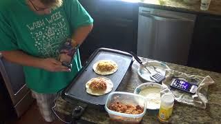 How to make a  Insane Delicious Spaghetti Burrito!