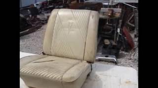 1964 1965 GTO BUCKET SEAT CHEVELLE EL CAMINO CUTLASS 442 SKYLARK GS NO TRACKS