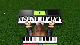 Roblox virtual piano: Smash mouth - All stars Romantic version *ADVANCED SHEET*