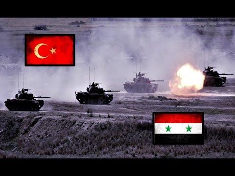 TURKEY VS SYRIA Military Power Comparison 2018