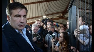 Саакашвили после визита в посольство США: сегодня штурма не будет