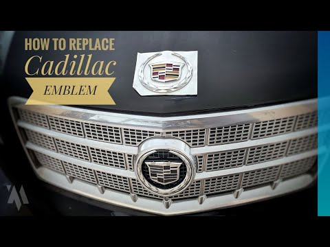 How to Replace a Cadillac Grill Emblem