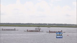 DragonBoat Beaufort races back at Water Festival