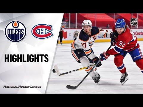 Oilers @ Canadiens