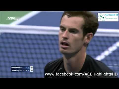 Andy Murray vs Thomaz Bellucci US OPEN 2015