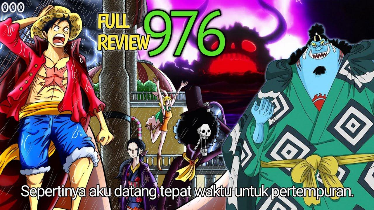 Review [ One Piece 976 ] Kedatangan Jinbe Yang Telah Dinantikan. Nakama Ke 10 Telah Kembali!