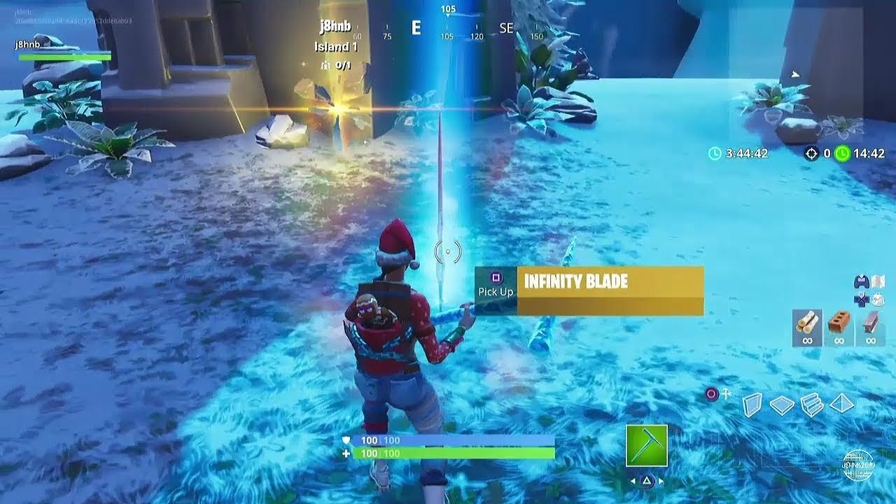 Fortnite Battle Royale - How To Get The Infinity Blade ...