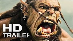 WARCRAFT Movie Trailer German Deutsch (2016)