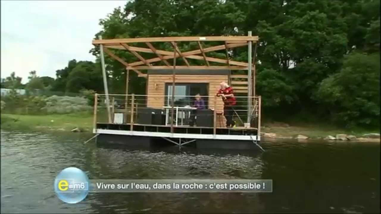 la maison flottante aquashell dans e m6 youtube. Black Bedroom Furniture Sets. Home Design Ideas
