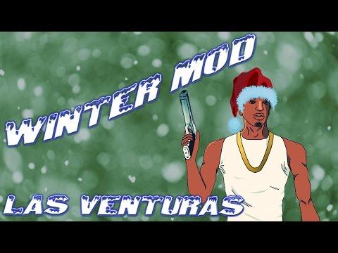 Grand Theft Auto San Andreas - Winter Mod [Las Venturas]
