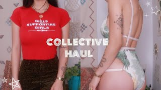 Collective Haul | thrifted retro finds
