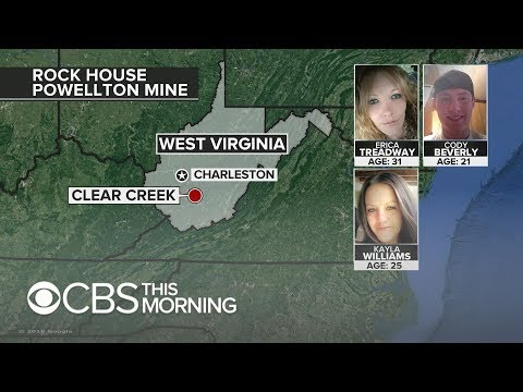 Search continues for 3 people trapped in West Virginia coal mine
