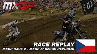 MXGP of Czech Republic 2019  Replay MXGP Race 2  Motocross