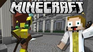 [GEJMR] Minecraft - Kovbojové a Indiáni - Chytáme zlatonky