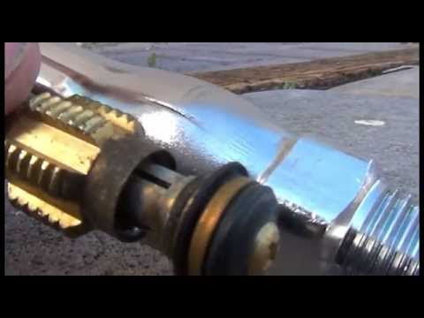 Mr. DIY How to replace a outdoor wall faucet with a Woodford Model ...
