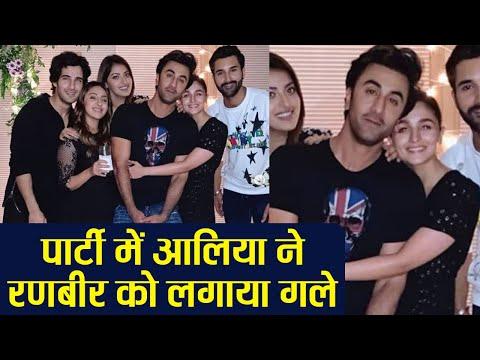 Alia Bhatt HUGS Ranbir Kapoor in Akansha Ranjan birthday party | FilmiBeat Mp3