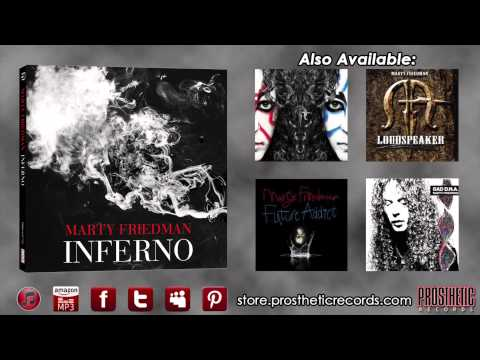 "Marty Friedman - ""Inferno -reprise-"" Official Track Stream"