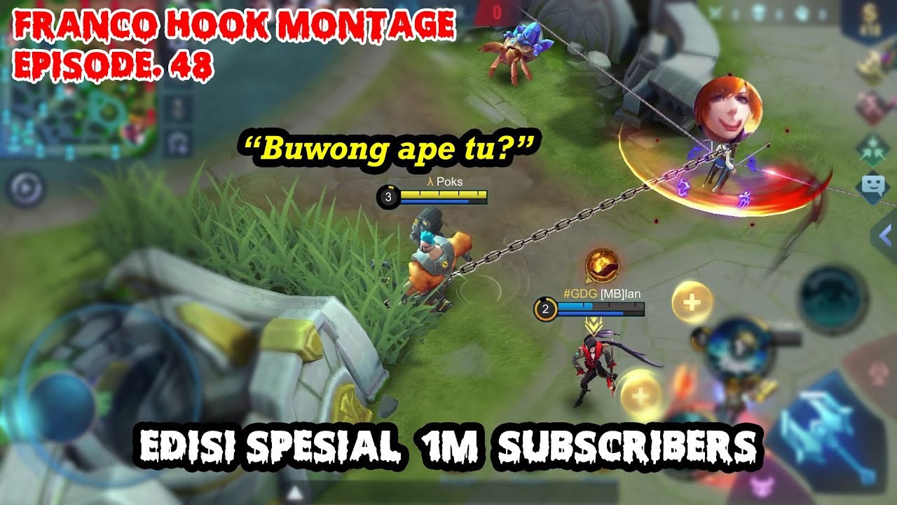 FRANCO HOOK MONTAGE EPS. 48 | Thank Your For 1M Subscribers