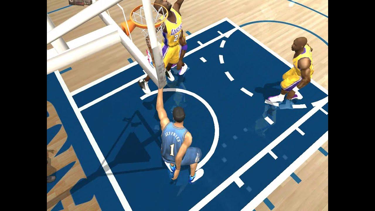 NBA Live 2004 - 2003 - Los Angeles Lakers VS Washington ...