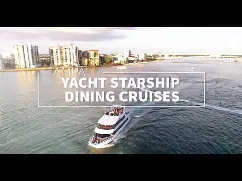 What To Do In Tampa - Yacht Starship Dinner Cruise