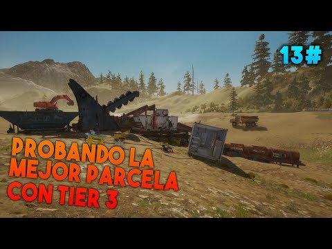 Gold Rush: The Game - Probando la Mejor Parcela con TIER 3 #13 - Gameplay Español