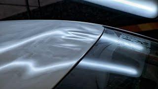 PDR ремонт крыши | Удаление вмятин без покраски