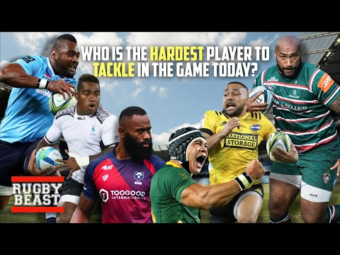 Who Is The Hardest Player To Tackle In The Game Today?