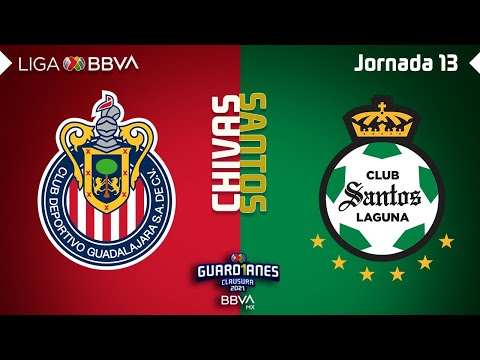 Guadalajara Chivas Santos Laguna Goals And Highlights