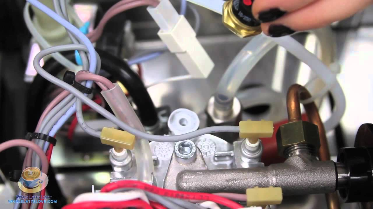 How To Replace The Thermostat On A Gaggia Classic Espresso Machine Wiring Youtube