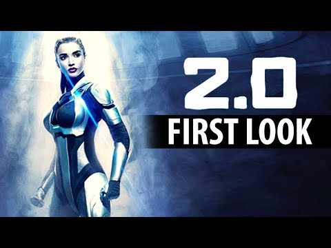 2.0 : Amy Jackson's Official First Look