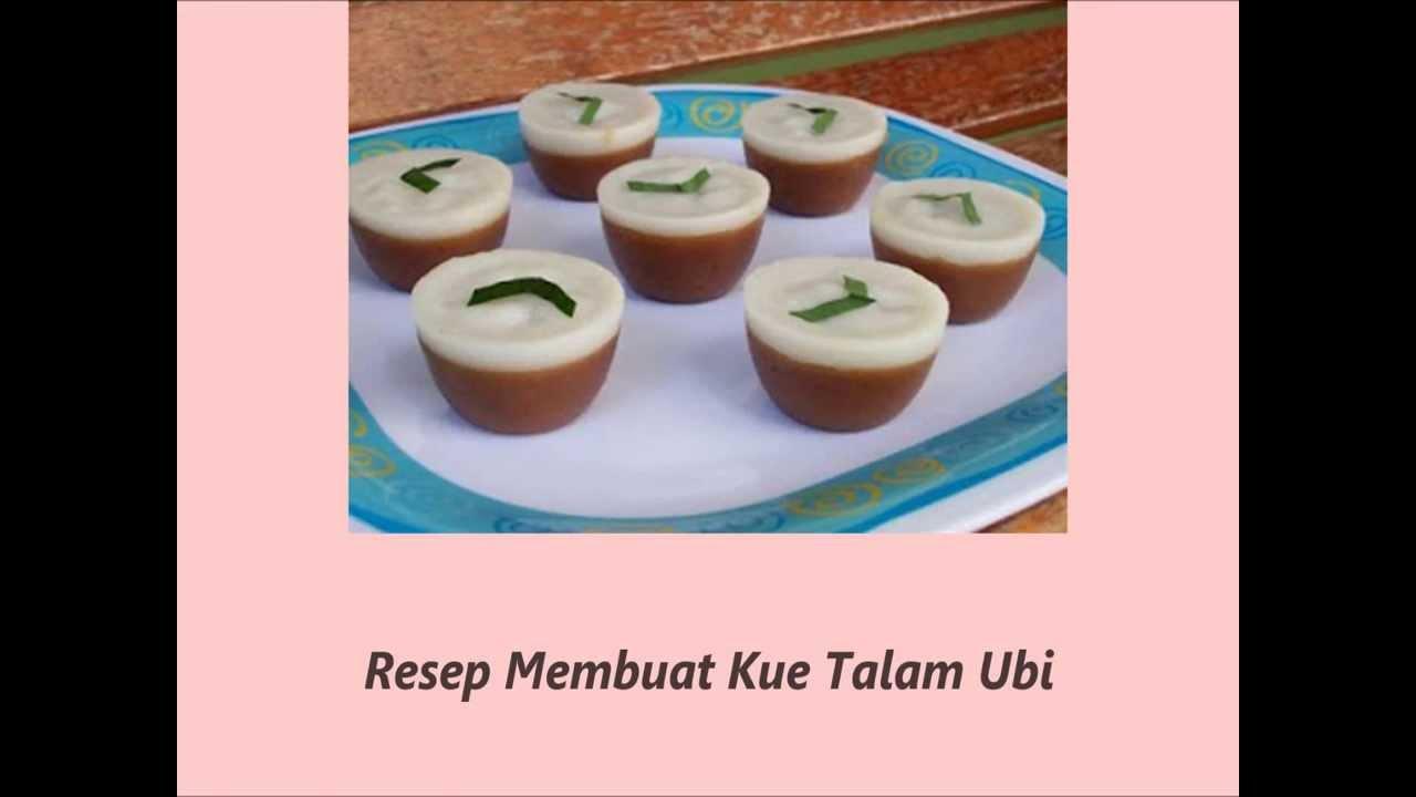 Resep Kue Talam Jtt: Resep Membuat Kue Talam Ubi