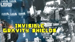 Space Engineers - Invisible Gravity Missile Shields, Debris Force Field