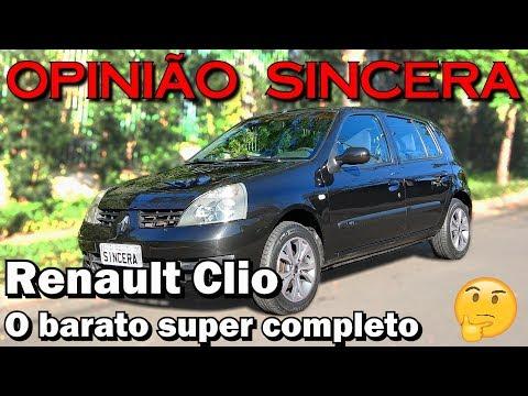 Renault Clio - Uma ótima Opção De 1.0 A Menos De 20 Mil Reais!