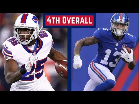 Live Fantasy Football Mock Draft - Who Do You Draft 4th Overall?