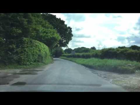 Ride in the lanes around Hook Village (Warsash) near Titchfield, Hampshire