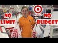 TARGET NO LIMIT NO BUDGET SHOPPING CHALLENGE! Mom Can't Say No! | CollinTV