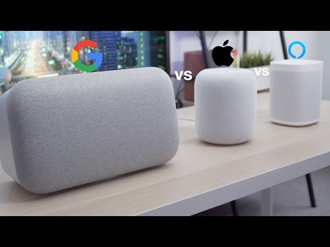 HomePod vs Google Home Max vs Sonos One (Which Should YOU Buy?)