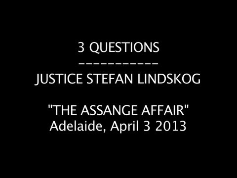 SWEDISH CHIEF JUSTICE STEFAN LINDSKOG - ASSANGE COULD BE QUESTIONED IN LONDON