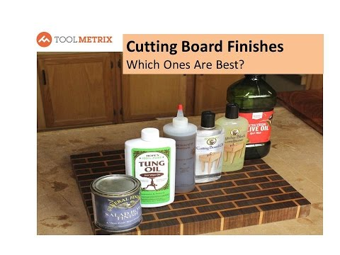 Best Cutting Board Finish