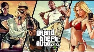 FUNNY GTA V MOMENTS 1: Windmills, Ghosts, and Lots of Falling