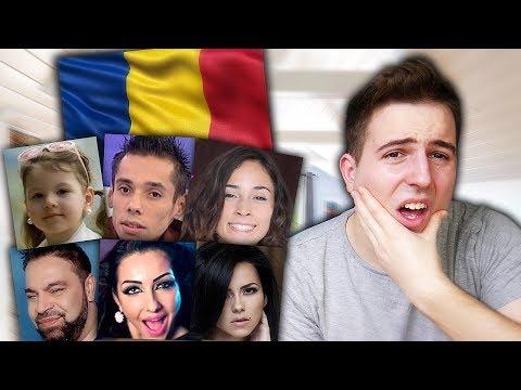 REACTING TO ROMANIAN MUSIC 11 (ft. Andra Gogan, Edy Talent, Cleopatra Stratan, Florin Salam, Inna)