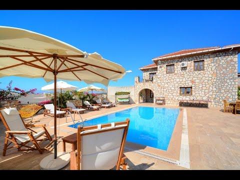 Tatil Villam | Villa Ceylin - Kalkan Üzümlü Köyü kiralık villa tatili