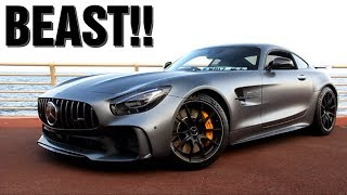 Mercedes AMG GTR SOUND in Monaco!