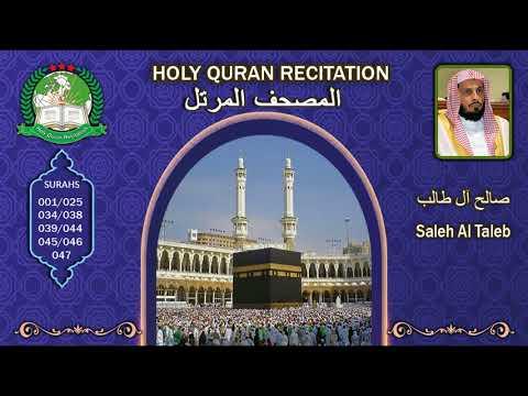 Holy Quran Recitation - Saleh Al Taleb 2/1 صالح آل طالب