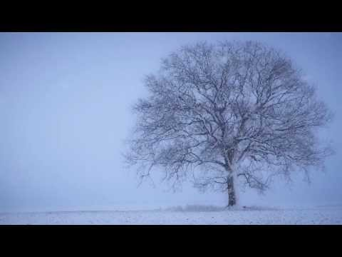 SNOW fall MEDITATION relaxation music