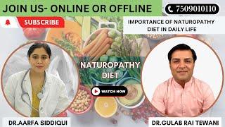 Naturopathy Diet By Dr Aarfa Siddiqui